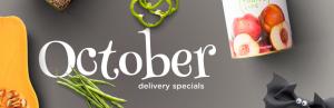 October Delivery Specials