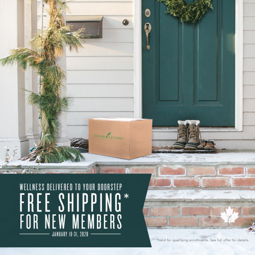Canada free shipping on Young Living Premium Starter Kits www.EssentialOils4Sale.com