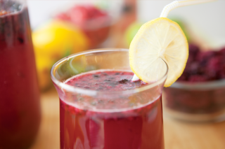 Gourmet Fruit Lemonade www.HealthyEasyFood.com