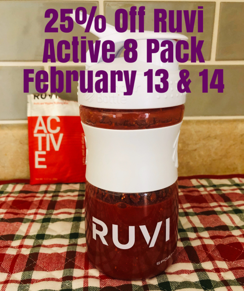Save 25% On Ruvi Active from Thrive www.HealthyEasyFood.com
