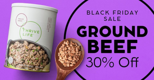 Ground Beef 30% off www.HealthyEasyFood.com