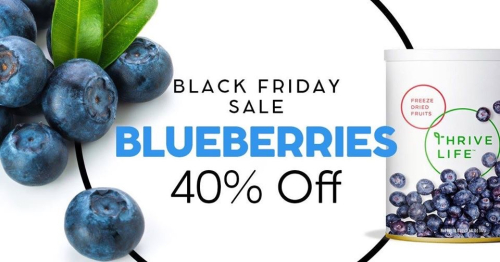 Blueberries 40% off www.HealthyEasyFood.com