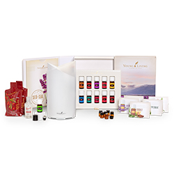 Young Living Australia and New Zealand Premium Starter Kit with Bamboo Diffuser www.EssentialOils4Sale.com