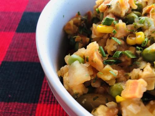 HealthyEasyFood.com Chicken  Veggie and Potato Stew