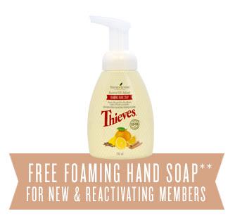 Free Thieves hand soap in Canada www.EssentialOils4Sale.com