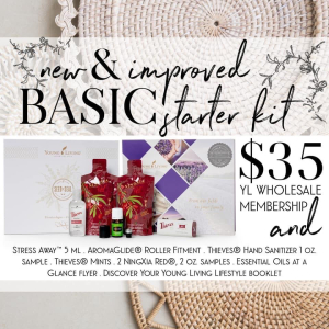 Young Living Basic Starter Kit www.EssentialOils4Sale.com