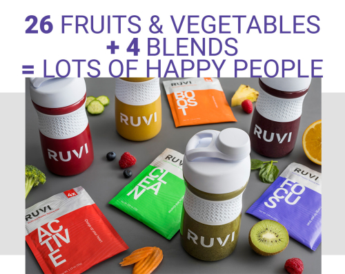 Ruvi Health Drink from Thrive Life www.HealthyEasyFood.com