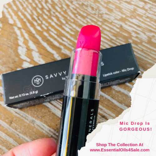 Mic Drop Saavy Minerals Lipstick www.EssentialOils4Sale.com