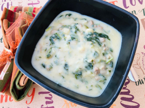 Zuppa Toscana Recipe www.HealthyEasyFood.com