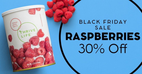 Raspberries 30% off www.HealthyEasyFood.com