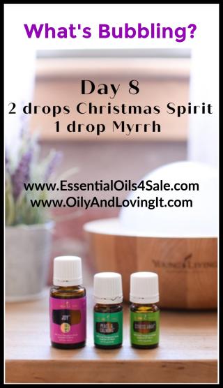 Day 8 What's Bubbling  www.EssentialOils4Sale.com