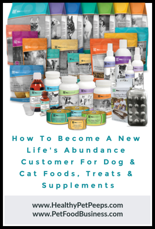 How To Become A Life's Abundance Customer www.HealthyPetPeeps.com