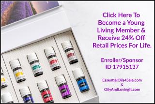 Become a Young Living member at www.EssentialOils4Sale.com