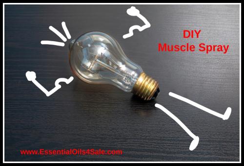 DIY Muscle Spray www.EssentialOils4Sale.com