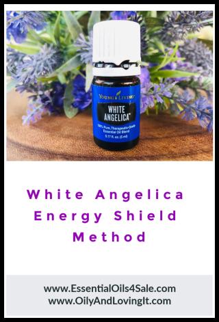 White Angelica Energy Shield Method www.EssentialOils4Sale.com