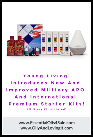 Young Living Military and International Starter Kits from www.EssentialOils4Sale.com