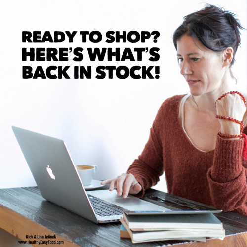 Ready To Shop www.HealthyEasyFood.com