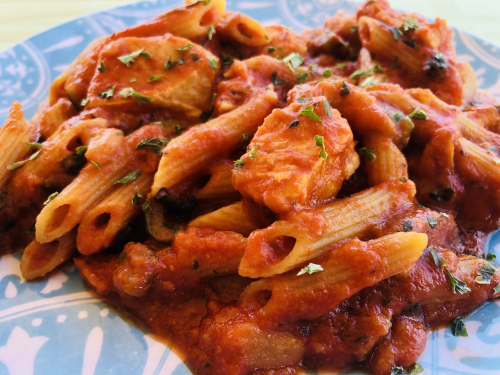 Chicken Lasagna Skillet Meal In A Jar Recipe - www.HealthyEasyFood.com