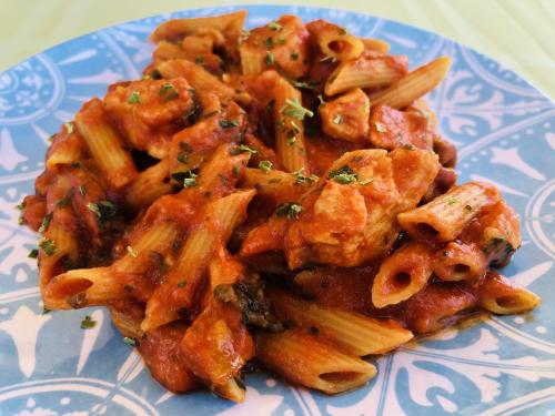Chicken Lasagna Skillet Meal In A Jar - www.HealthyEasyFood.com