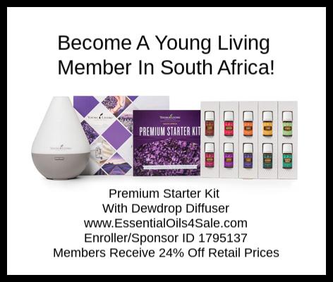 Young Living South Africa Premium Starter Kit www.EssentialOils4Sale.com