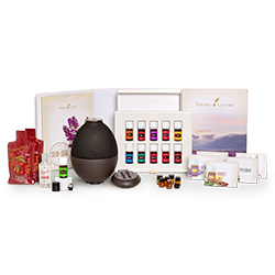 Young Living Australia and New Zealand Premium Starter Kit with Rainstone Diffuser www.EssentialOils4Sale.com