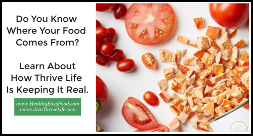 Do You Know Where Your Food Comes From www.HealthyEasyFood.com