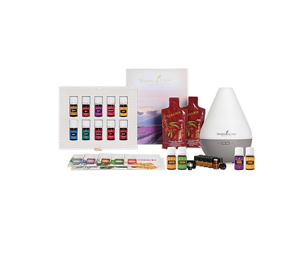 Young Living Malaysia Premium Starter Kit with Dewdrop Diffuser www.EssentialOils4Sale.com