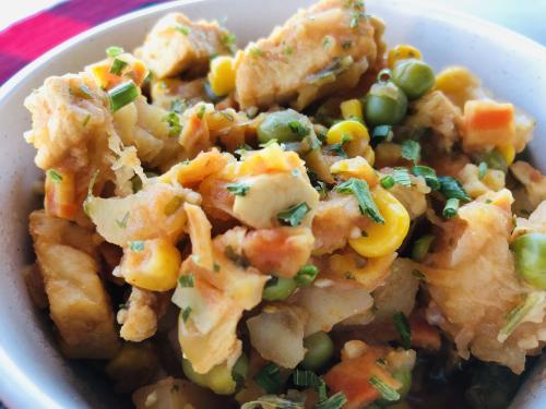 One Pot Chicken  Veggie and Potato Stew Recipe from HealthyEasyFood.com