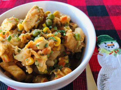 Www.HealthyEasyFood.com One Pot Chicken  Veggie and Potato Stew www.HealthyEasyFood.com