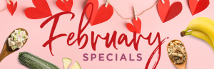 February Thrive Delivery Specials www.HealthyEasyFood.com