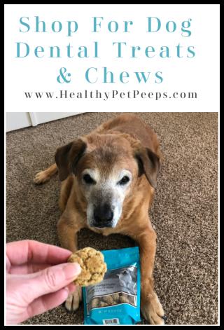 Shop for dog dental treats www.HealthyPetPeeps.com