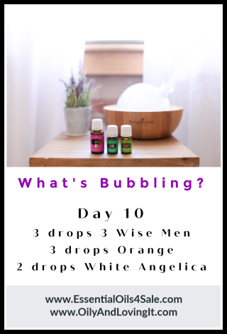 Whats Bubbling Day 10 from www.EssentialOils4Sale.com