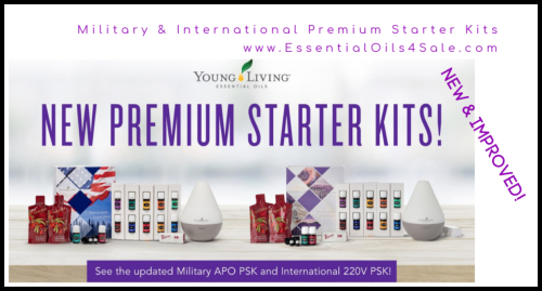 Young Living Military and International Starter Kits www.EssentialOils4Sale.com