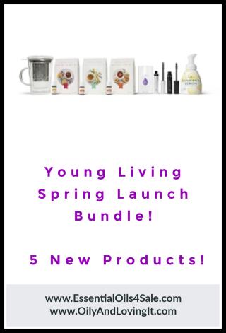 Young Living Spring Launch Bundle - www.EssentialOils4Sale.com