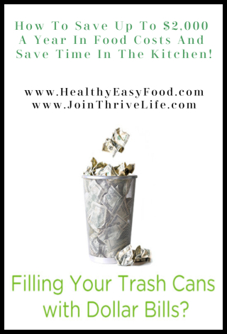 How To Save Up To $2 000 A Year In Food Costs And Save Time In The Kitchen - www.HealthyEasyFood.com