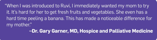 Try Ruvi health drink at www.HealthyEasyFood.com