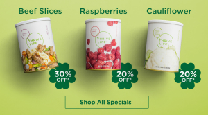 Shop all Thrive monthly March specials www.HealthyEasyFood.com