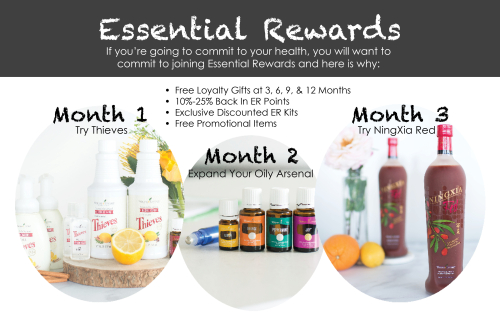 Young Living Essential Rewards Program www.EssentialOils4Sale.com