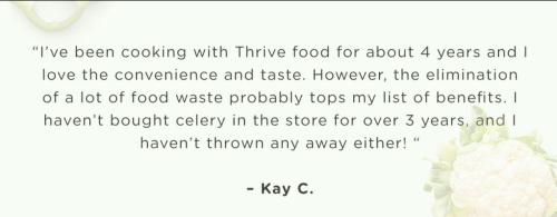 How Thrive Life customers save www.HealthyEasyFood.com