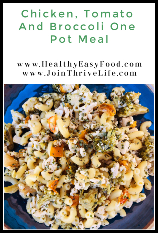 Chicken  Tomato And Broccoli One Pot Meal - www.HealthyEasyFood.com