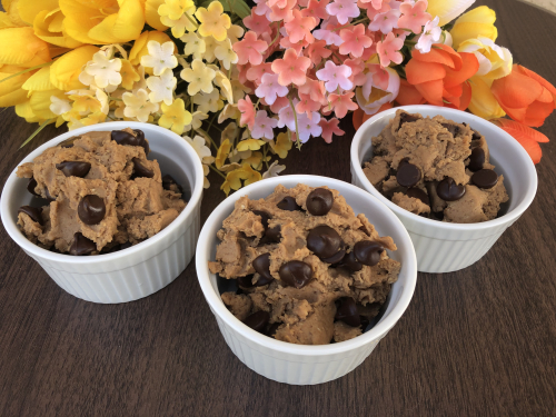 Edible Cookie Dough That's Healthy www.Health4UandPets.com