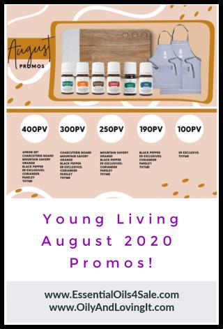 Young Living August 2020 Promos - www.EssentialOils4Sale.com