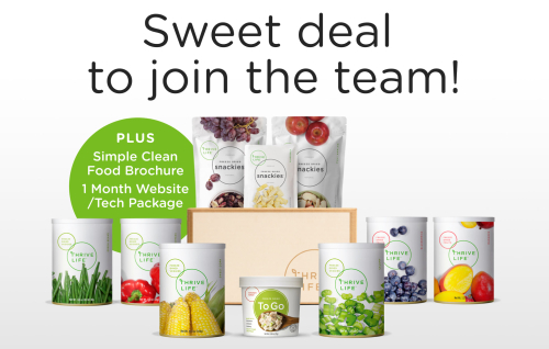 Thrive Life September Consultant Special www.JoinThriveLife.com