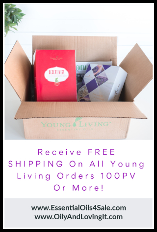 Receive FREE SHIPPING On All Young Living Orders 100PV Or More - www.EssentialOils4Sale.com