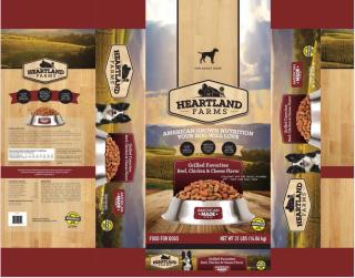 Heartland Farms Dog Food Recalled www.HealthyPetPeeps.com