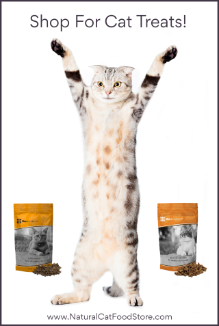 Shop for Life's Abundance Cat Treats www.NaturalCatFoodStore.com