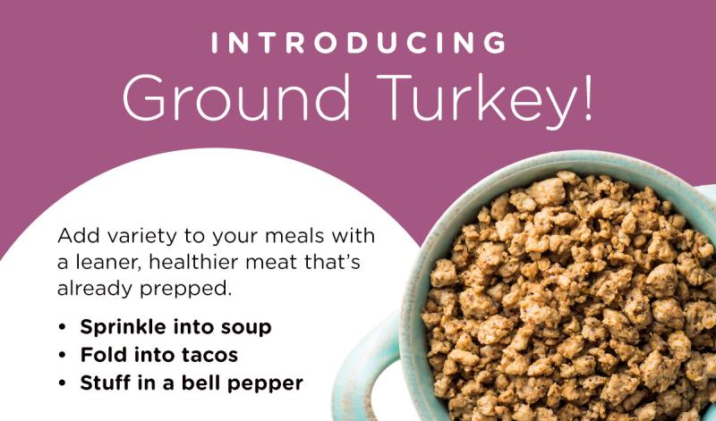 Thrive Life Freeze Dried Ground Turkey www.HealthyEasyFood.com