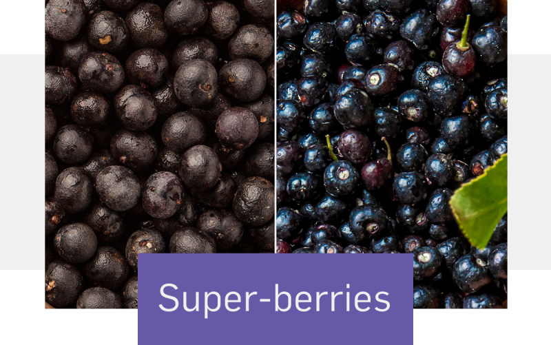 Super berries acai and maqui www.HealthyEasyFood.com
