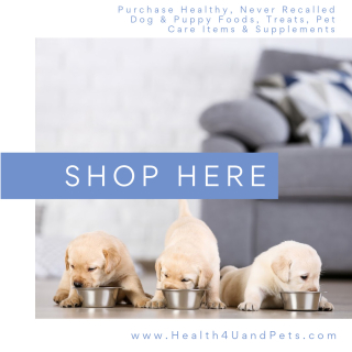 Purchase Healthy Products For Your Dog And Puppy www.Health4UandPets.com