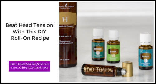 Beat head tension with this DIY roll-on recipe www.EssentialOils4Sale.com